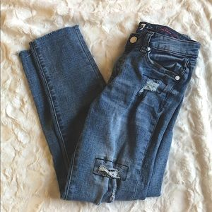 7 For All Mankind Josefina Skinny Jeans-Girl's 12